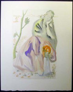 Salvador Dali - Divine Comedy - The Golden Age