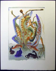 Salvador Dali - Divine Comedy - Greed