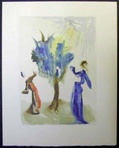 Salvador Dali - Divine Comedy - The Tree of Punishment