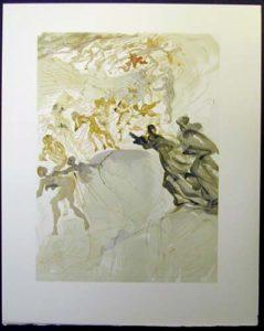Salvador Dali - Divine Comedy - The Lustful