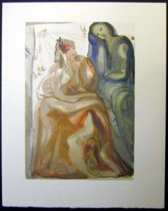 Salvador Dali - Divine Comedy - Dante Re-awakes