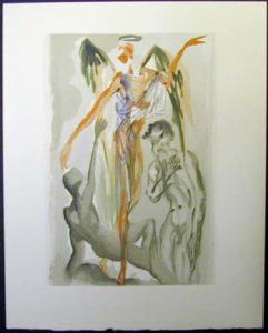 Salvador Dali - Divine Comedy - Towards the Tree of Law