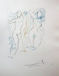 Salvador Dali Paradise Lost - L'Arbre de Vie (The Tree of Life)