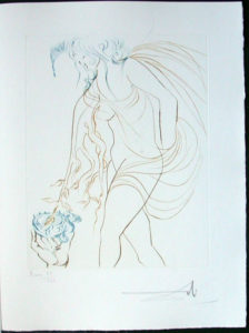 Salvador Dali - Paradise Lost - La Coupe Offerte (The Offered Cup)
