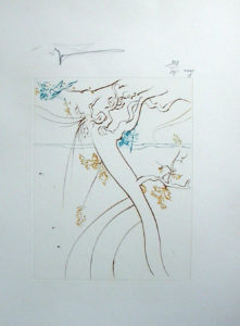 Salvador Dali - Paradise Lost - L'Arbre de Science (The Tree of Science))