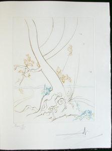 Salvador Dali - Paradise Lost - L'Arbre de Science (The Tree of Science)