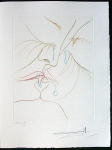 Salvador Dali - Paradise Lost - Le Baiser (The Kiss)