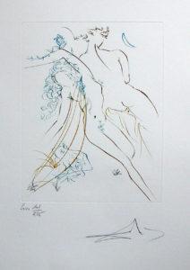 Salvador Dali - Paradise Lost - Sommeil Innocent (Innocent Slumber)