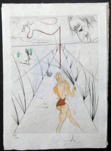 Salvador Dali - La Venus aux Fourrures - Alle des Verges