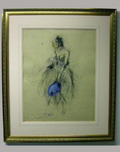 Salvador Dali - Custom Picture Framing – Plainfield, Illinois - Frame Example 3