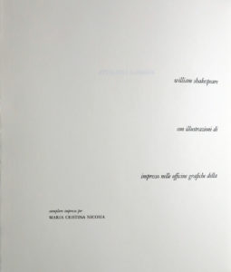 Salvador Dali - Romeo and Juliet - Dedication