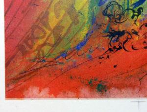 Salvador Dali - Romeo and Juliet - signature #2