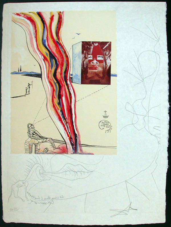 Salvador Dali - Dalinean Prophecy - Liquid and Gaseous Television