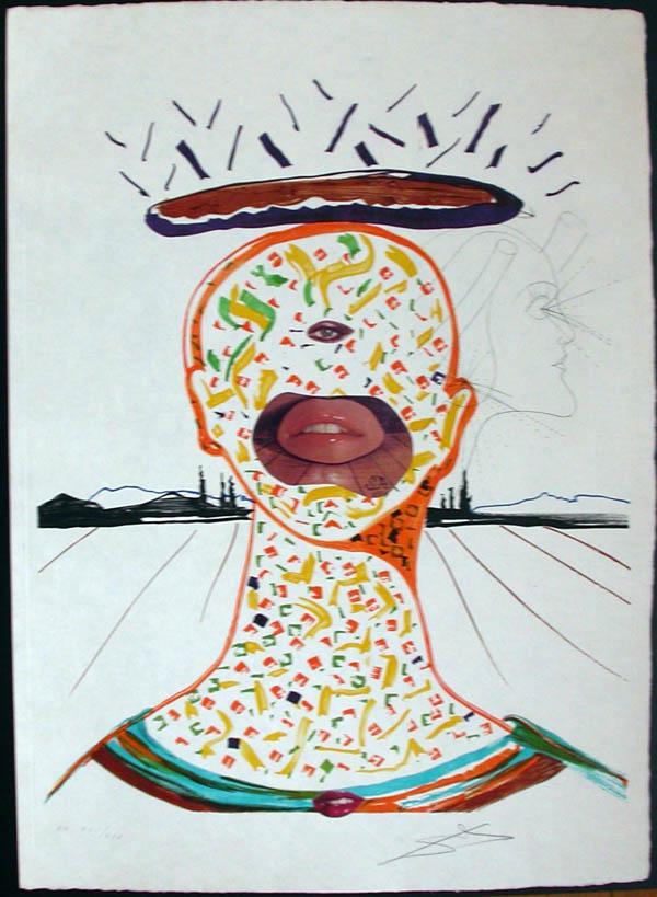 Salvador Dali - Dalinean Prophecy - Cyclopean Make-Up