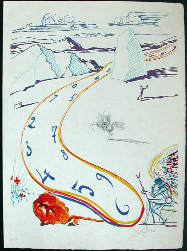Salvador Dali - Dalinean Prophecy - Anti-Umbrella with Atomized Liquid