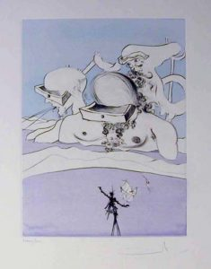 Salvador Dali - After 50 Years of Surrealism - Flung out like a Fag-end by the Big-wigs