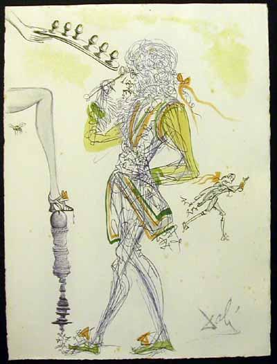 Salvador Dali - Dali Illustre Casanova - Six Eggs