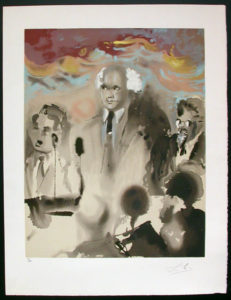 Salvador Dali - Individual Aliyah Lithographs for Sale - A Moment in History