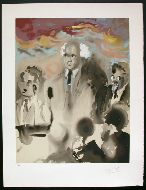 Salvador Dali - Aliyah - A moment in history