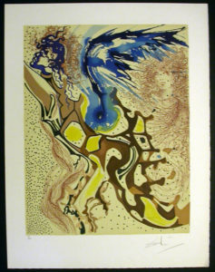 Salvador Dali - Aliyah - Angels of the Rebirth