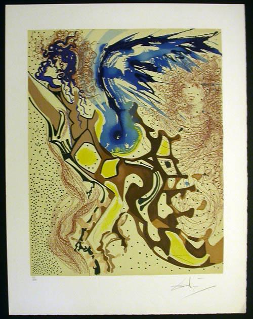 Salvador Dali - Aliyah - Angels of the Rebirth