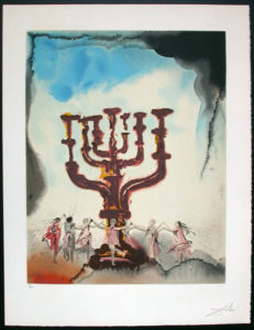 Salvador Dali - Individual Aliyah Lithographs for Sale - Orah-Horah