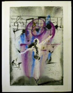 Salvador Dali - Individual Aliyah Lithographs for Sale - Hatikvah