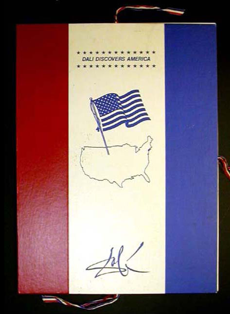 Salvador Dali - Dali Discovers America - Jonah