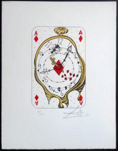 Salvador Dali - Playing Cards - Playing Cards Diamonds - Ace of Diamonds