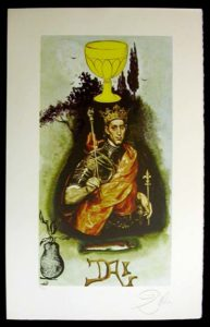 Salvador Dali - Lyle Stuart Tarot Cards - King of Cups