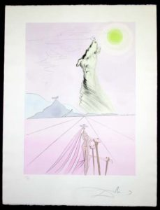 Salvador Dali - Twelve Tribes of Israel - Benjamin