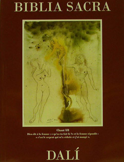 Salvador Dali - biblia Sacra book