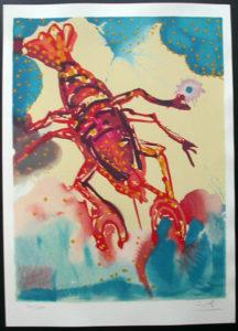 Salvador Dali - Twelve Signs of the Zodiac - Cancer