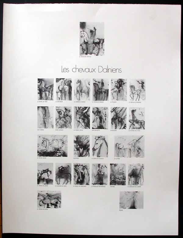 Salvador Dali - Dalinean Horses - Cover Page