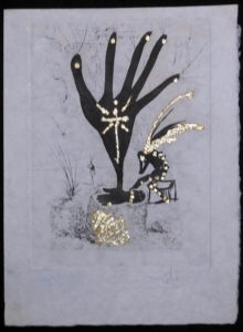 Salvador Dali - Les Amours Jaunes, The Golden Loves - Flower of Art