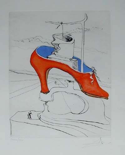 Salvador Dali - After 50 Years of Surrealism - The Curse Conquered