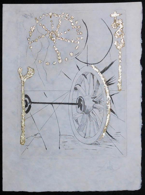 Salvador Dali - Les Amours Jaunes, The Golden Loves - Good fortune