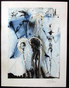 Salvador Dali - Dalinean Horses - Don Quichotte