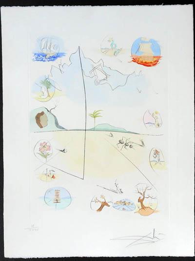Salvador Dali - Twelve Tribes of Israel - Frontispiece