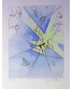 Salvador Dali - After 50 Years of Surrealism - The Grand Inquisitor Expels the Savior