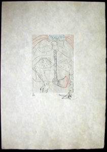 Salvador Dali - Shakespeare II - Henry VIII