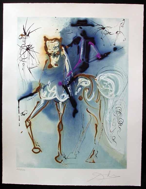 Salvador Dali - Dalinean Horses - Le picador