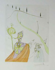 Salvador Dali - After 50 Years of Surrealism - The Sacred Love of Gala