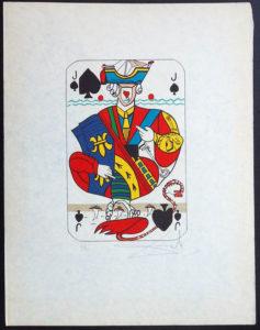 Salvador Dali - Playing Cards - Playing Cards Spades - Jack of Spades