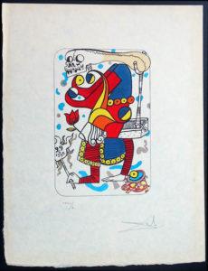 Salvador Dali - Playing Cards - Playing Cards Joker
