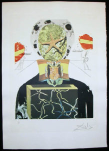 Salvador Dali - Memories of Surrealism Individual Photoliths - Surrealist King