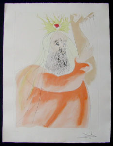 Salvador Dali - Our Historical Heritage - King David
