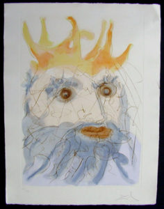 Salvador Dali - Our Historical Heritage - King Saul