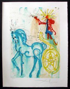 Salvador Dali - Dalinean Horses - Le Cheval de Triomphe