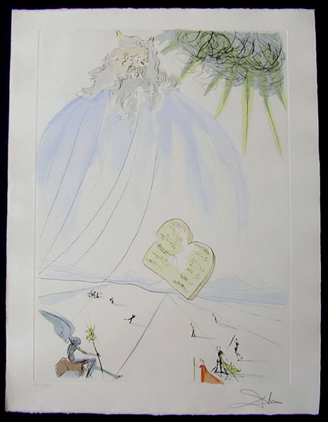 Salvador Dali - Our Historical Heritage - Moses